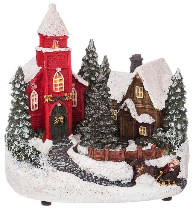 Фигурка Lefard, Рождественский домик, 19*13,5*18,5 см 868-124