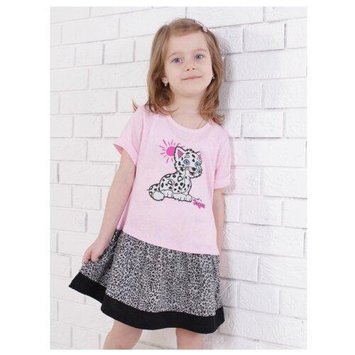 Купить Платье Jewel Style размер 92, розовый/меланж, Платья и юбки