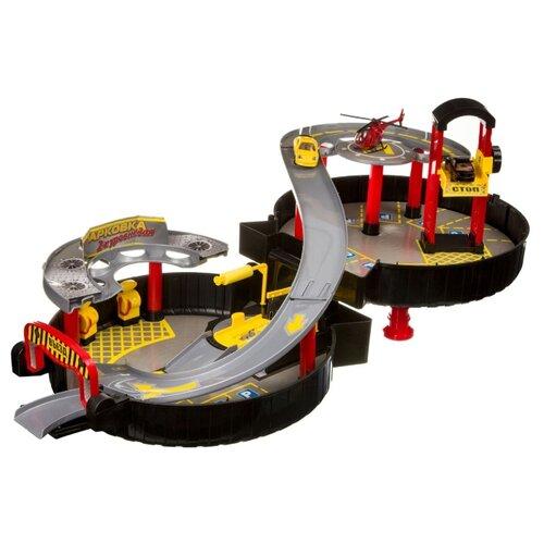 Купить BONDIBON ВВ4073 желтый/красный/серый, Детские парковки и гаражи
