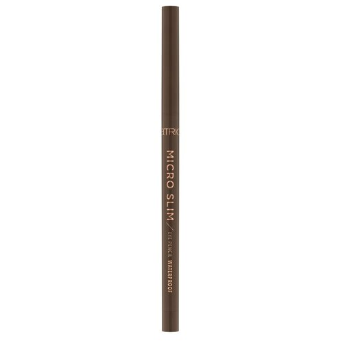 CATRICE Карандаш для глаз Micro Slim Eye Pencil Waterproof, оттенок 030 brown precision 3ina the automatic eye pencil карандаш для глаз оттенок 307