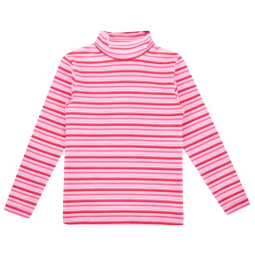 Купить Водолазка Fun time размер 104, розовый/красный, Свитеры и кардиганы