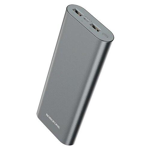 Аккумулятор Borofone BT19B Universal 20000mAh, серебристый аккумулятор