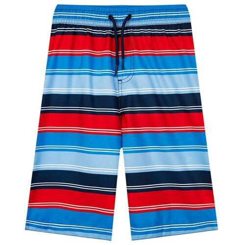 Шорты для плавания playToday размер 104, темно-синий/голубой/синий/красный песочник playtoday размер 56 голубой темно синий