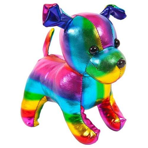 Фото - Мягкая игрушка ABtoys Собака разноцветная 15 см мягкая игрушка abtoys собака m2032 14 см