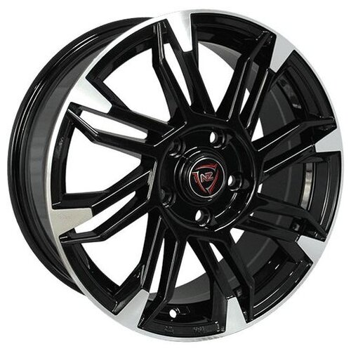 Фото - Колесный диск NZ Wheels F-8 6x15/4x100 D54.1 ET48 BKPS колесный диск nz wheels sh662 6x15 4x100 d54 1 et48 sf