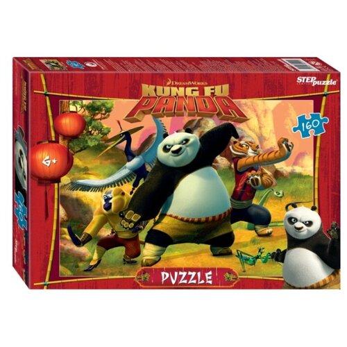 Фото - Пазл Step puzzle DreamWorks Кунг-фу Панда (94101), 160 дет. пазл step puzzle dreamworks trolls 94056 160 дет