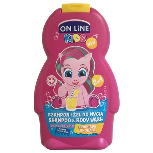 ON LiNE Kids Шампунь-гель для душа Лимонад 250 мл