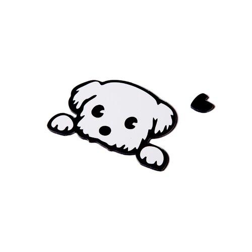 Наклейка на выключатель DS Studio Милый щенок, объемная