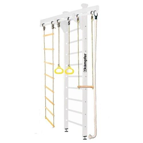 Купить Шведская стенка Kampfer Wooden Ladder Ceiling Стандарт жемчужный, Игровые и спортивные комплексы и горки