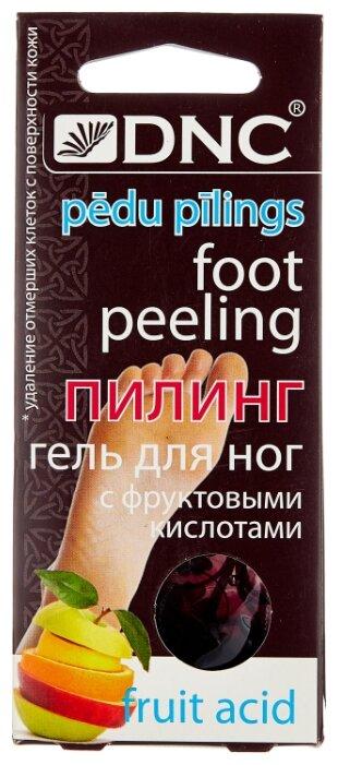DNC Гель пилинг для ног с фруктовыми