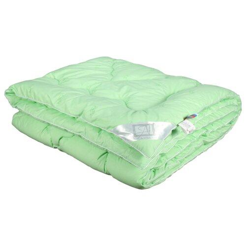 цена Одеяло АльВиТек Бамбук, теплое, 200 х 220 см (светло-салатовый) онлайн в 2017 году