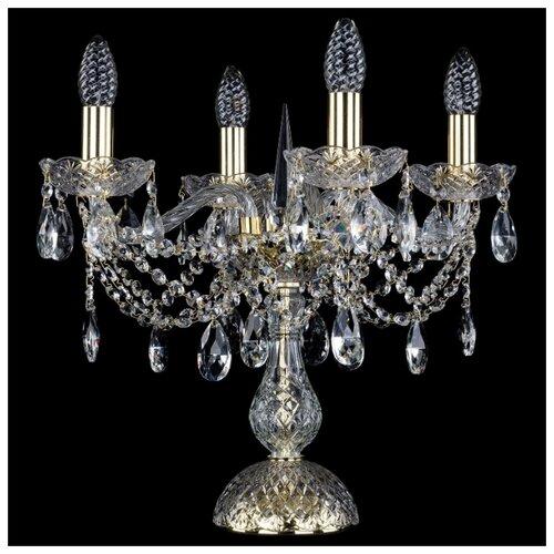 Настольная лампа Bohemia Art Classic 12.21.4.141-37.Gd.Sp, 160 Вт настольная лампа bohemia art classic 11 23 12 23 3 141 37 br dr