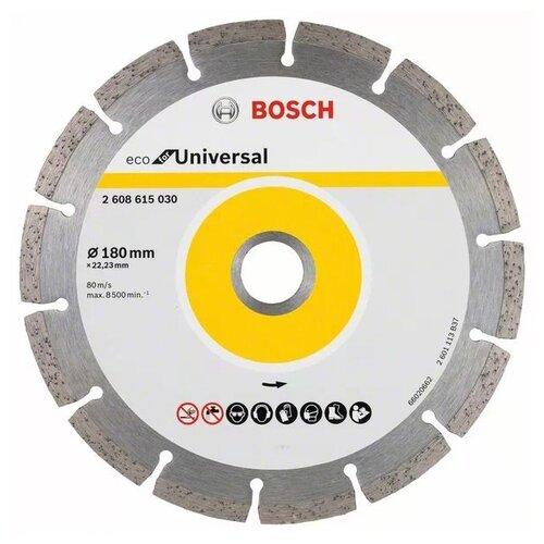 Диск алмазный отрезной BOSCH ECO for Universal 2608615030, 180 мм 1 шт. недорого