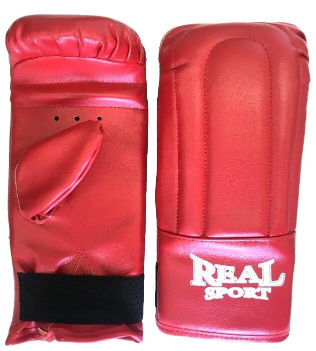 Боксерские перчатки Realsport тренировочные S