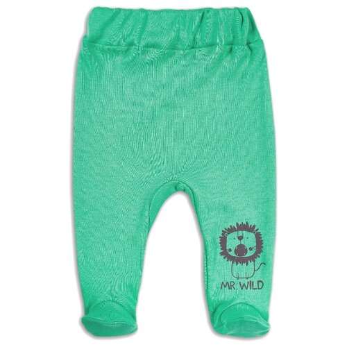 ползунки веселый малыш размер 62 молочный Ползунки Веселый Малыш размер 62, зеленый