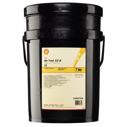 фото Компрессорное масло shell air tool oil s2 a 32 20 л