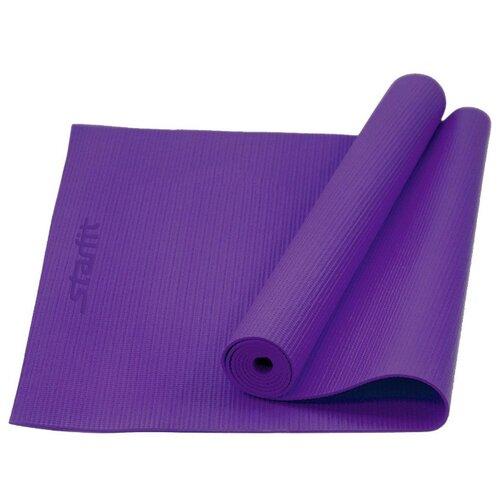Фото - Коврик (ДхШхТ) 173х61х0.6 см Starfit FM-101 фиолетовый однотонный коврик дхшхт 173х61х0 4 см starfit fm 102 фиолетовый рисунок