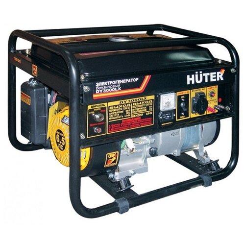 Бензиновый генератор Huter DY3000LX (2500 Вт) газо бензиновый генератор huter dy4000lg 3000 вт