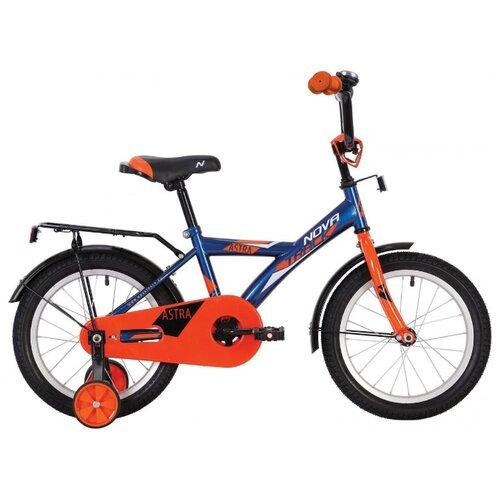 Детский велосипед Novatrack Astra 16 (2020) синий (требует финальной сборки)