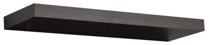 Характеристики модели Настенная полка Том Полкер Левитац темно-коричневая на Яндекс.Маркете