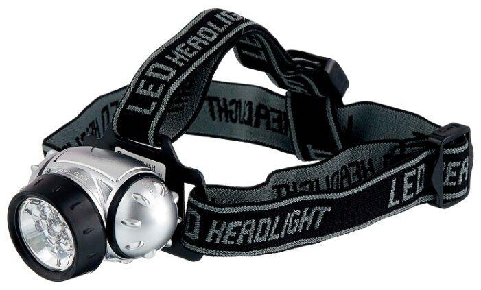 Ultraflash Фонарь налобный LED5351 (7LED 3 режима; 3хR03 метал.) (10260, Ultraflash)