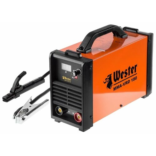 Сварочный аппарат Wester MMA-VRD 180 (MMA) сварочный аппарат булат бса 190ит mma