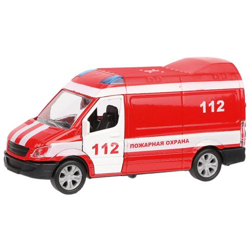Купить Фургон Пламенный мотор Пожарная охрана (870363) 11 см красный, Машинки и техника