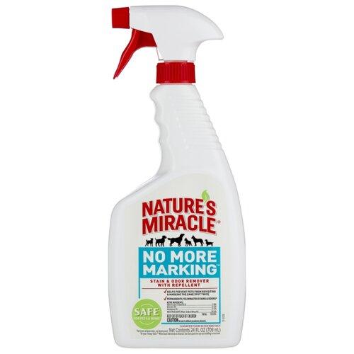 Спрей Nature's Miracle уничтожитель пятен и запахов No More Marking против повторных меток 709 мл