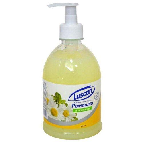 Крем-мыло жидкое Luscan Ромашка, 500 мл жидкое крем мыло для рук ягодный мусс 500 мл