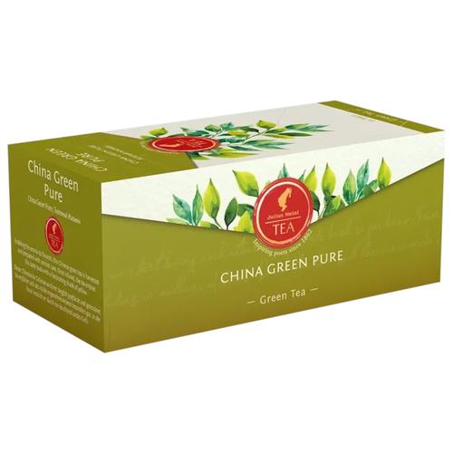 Чай зеленый Julius Meinl Китайский в пакетиках, 25 шт. чай черный julius meinl assam south india blend в пирамидках 18 шт