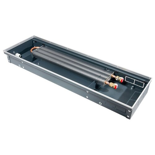 Водяной конвектор Techno Usual KVZ 350-85-1500 черный внутрипольный водяной конвектор techno с вентилятором 220в без решетки kvzv 350 85 1000