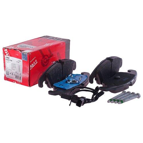 Фото - Дисковые тормозные колодки передние TRW GDB1768 для Audi A4, Audi A5, Audi Q5 (4 шт.) дисковые тормозные колодки передние trw gdb3286 для toyota highlander lexus rx 4 шт