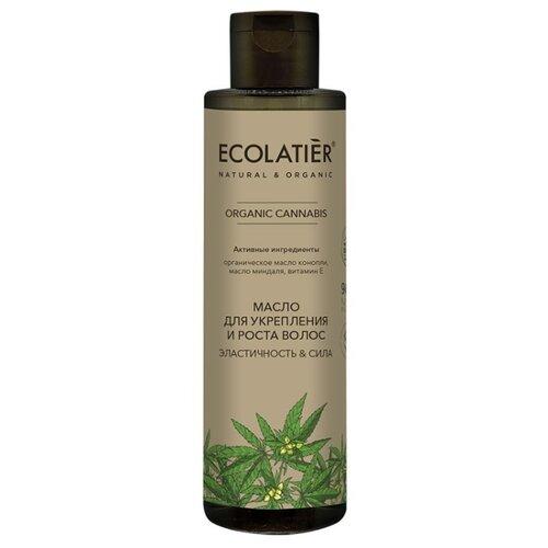 Купить Ecolatier GREEN Масло для укрепления и роста волос Эластичность & Сила Серия ORGANIC CANNABIS, 200 мл, ECO Laboratorie