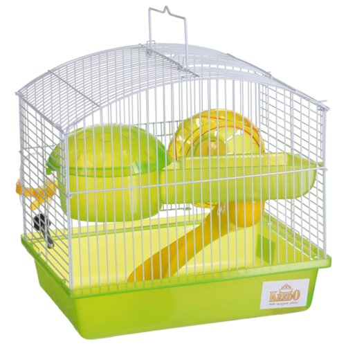 Клетка KREDO для грызунов, окрашен. с пластм. поддоном 27х20,5х25,5см (Подарочная упаковка) недорого