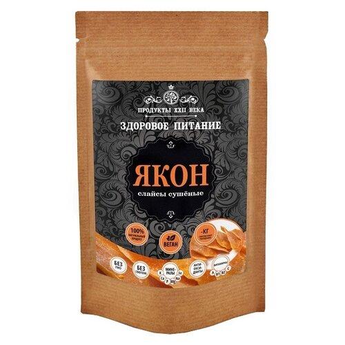 Продукты ХХII века Якон слайсы сушеные 100 г продукты ххii века чиа черная семена 100 г