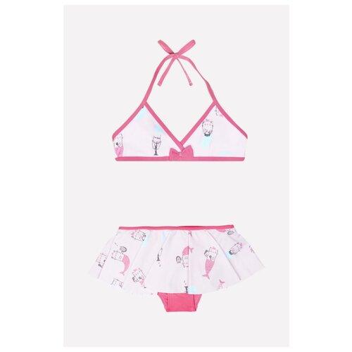 Купить Купальник crockid размер 116-122, светло-розовый, Белье и купальники