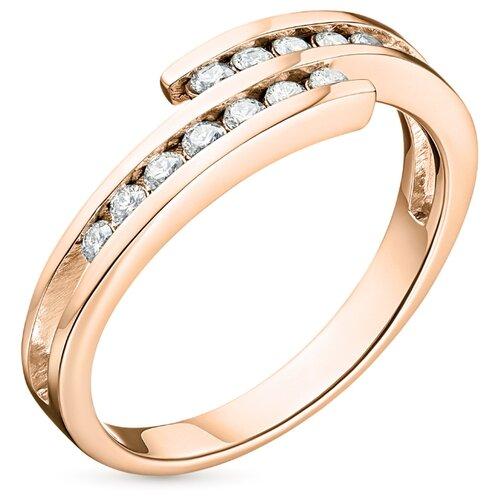 ЭПЛ Якутские Бриллианты Кольцо э02к061053-18.0-0.233, размер 18