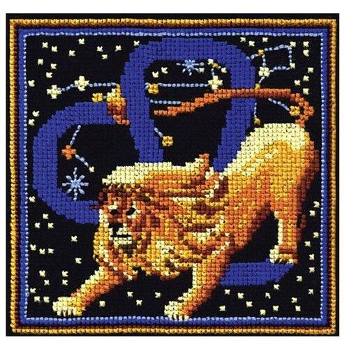 Купить Сделай своими руками Набор для вышивания Знаки зодиака. Лев 16 х 16 см (З-13), Наборы для вышивания