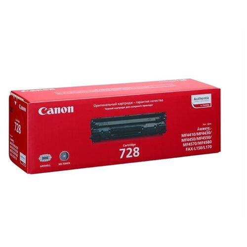 Картридж ориг. Canon 728 черный для Canon i-SENSYS MF-4410/4430/4450/4550d/4570dn (2100стр), цена за штуку, 153074
