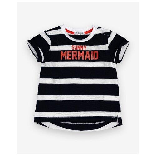 Купить Футболка Gulliver Baby размер 86, синий, Футболки и рубашки