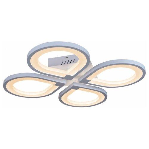Потолочная светодиодная люстра iLedex Clover 6885/4 WH люстра светодиодная iledex clover 6885 4 bk 48 вт