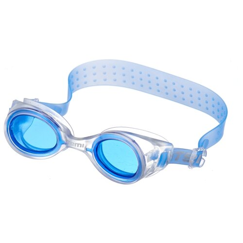 Фото - Очки для плавания ATEMI N7301 белый/синий очки маска для плавания atemi z401 z402 синий серый