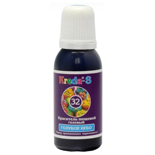 KREDA - S Краситель пищевой гелевый №32 Голубое небо 25 г