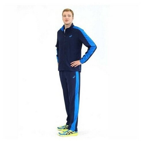 Спортивный костюм мужской ASICS 142892 0891 SUIT ESSENTIAL 1428920891 размер 48 цвет синий