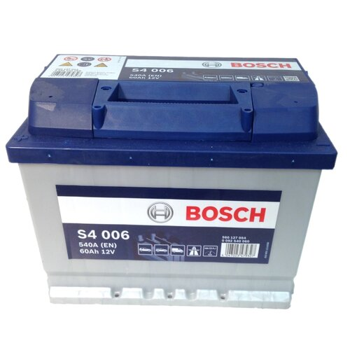 Автомобильный аккумулятор Bosch S4 006 (0 092 S40 060)