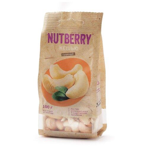 Кешью NUTBERRY очищенный, пластиковый пакет 100 г кешью asal premium очищенный 150 г