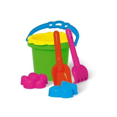Купить Набор Stellar №112 01812 розовый/голубой/желтый/зеленый/оранжевый, Наборы в песочницу