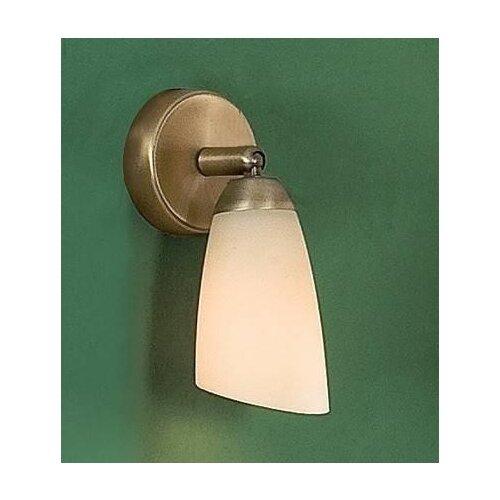 Настенный светильник Citilux Белла CL501513, E14, 60 Вт, кол-во ламп: 1 шт., цвет арматуры: бронзовый, цвет плафона: бежевый настенный светильник citilux афина cl507523 e14 120 вт