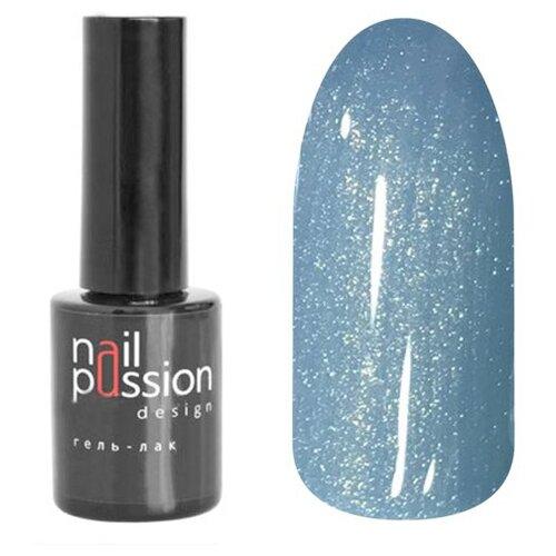 Гель-лак для ногтей Nail Passion Весеннее очарование, 10 мл, оттенок 7305 Бескрайнее небо