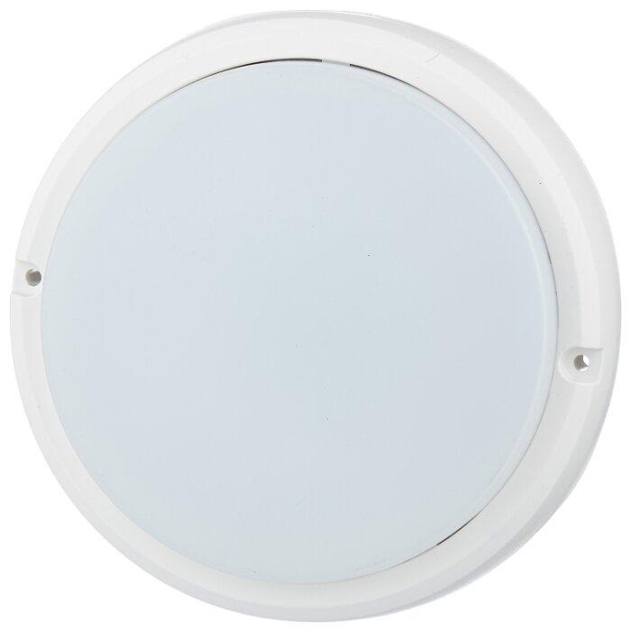 IEK Светильник светодиодный ДБП 8w 4000К 530Лм IP54 круглый пластиковый белый (LDPO0-4001-8-4000-K01, IEK)